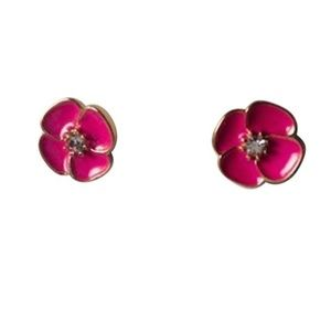 Kate Spade Flower Pink Earrings